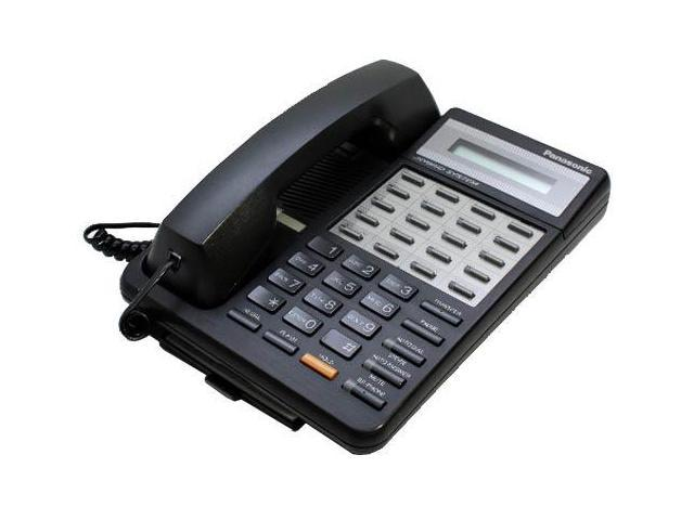 Panasonic KX-T7030B Hybrid System Corded Speakerphone W/ 1-Line Backlit LCD Display And 4 One Touch Dial Keys