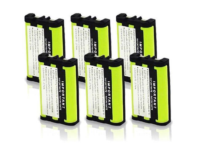 Replacement Battery for Uniden BT0003 (6-Pack) for CLX Series & TCX 400 /440
