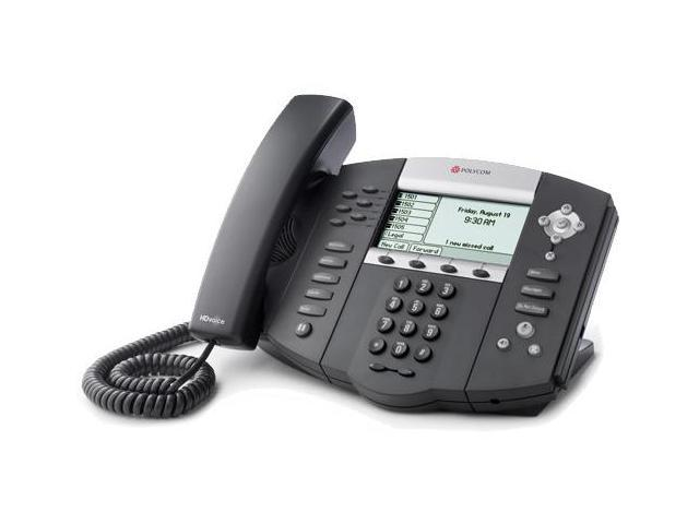 Polycom SoundPoint IP 650 (2200-12651-001) SoundPoint IP 650 6-Line IP Phone w/ AC