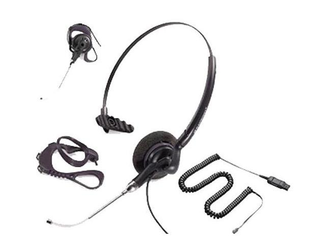 Plantronics Polaris DuoSet P141-U10P 45227-01 Convertible Mono Corded Headset