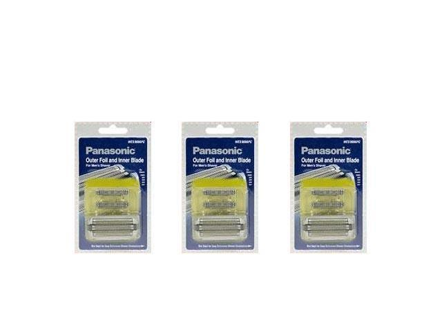Panasonic WES9006PC Replacement Blade And Foil For Men's Shaver Models ES8092 And ES8096 3 Pack