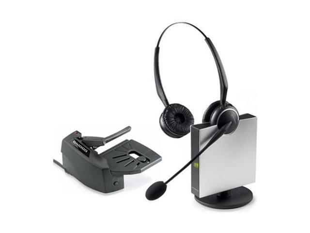 Jabra GN9125 Flex Duo Wireless Headset & Lifter w/ Peakstop Tech