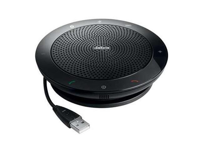 Jabra Speak 510 Bluetooth A2DP  Speakerphone Compatible W/ UC &  VoIP Clients
