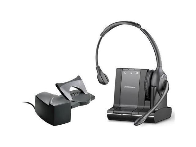 Plantronics Savi W710 DECT 6.0 Mono Wireless Headset With HL10