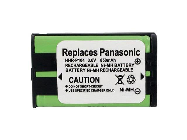 Panasonic  Replacement Battery for HHR-P104 / GE-TL26411