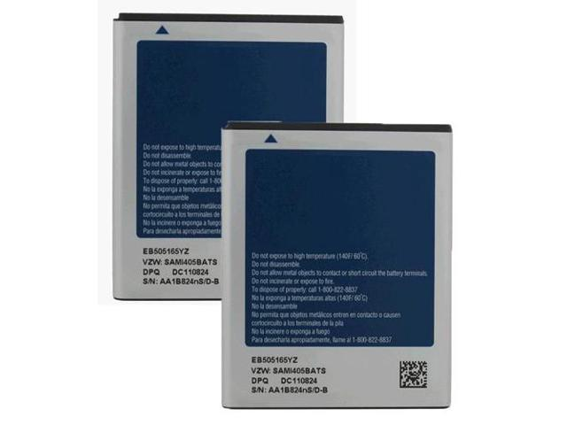 Battery for Samsung EB505165YZ (2-Pack) Replacement Battery