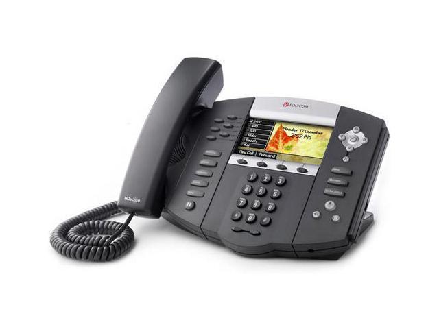 Polycom SoundPoint IP 670 (2200-12670-001)  SoundPoint IP 670 6-Line IP Phone w/ AC
