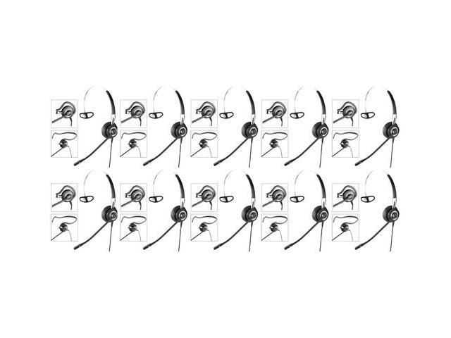 Jabra BIZ 2400 Mono NC Corded Headset w/ Break Proof Boom Mic (10 Pack)