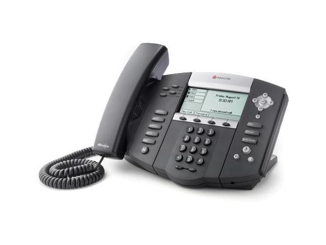 Polycom 2200-12550-001 SoundPoint IP 550 4-Line IP Phone with AC