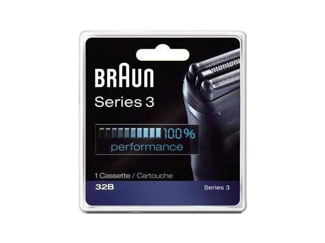 Braun 32B Series 3 Replacement Foil and Cutter Head Cassette
