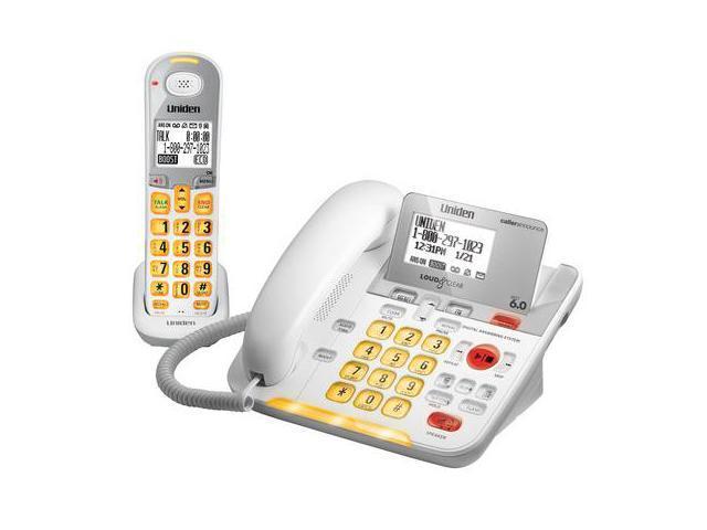 Uniden D3098 Corded Uniden D3098S Cordless Phone