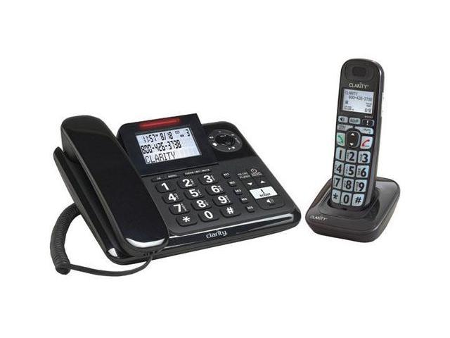 Clarity E814CC Corded Caller ID Telephone w/ 1 Additional Handset,