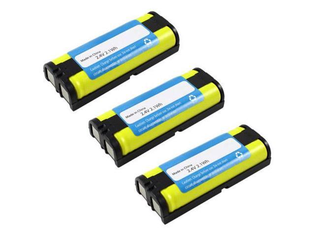 New Replacement Battery For Panasonic HHR-P105 / GE-TL26420 Cordless Phones 3 Pack