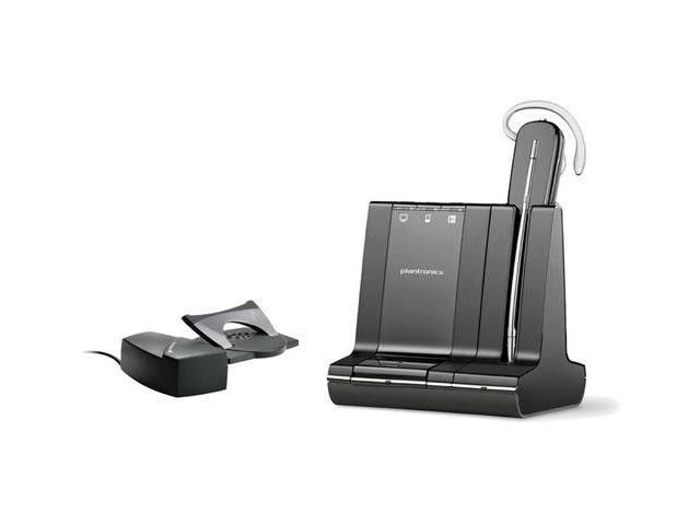 Plantronics Savi W740-M + HL10  Wireless Headset System 1 Pack New !