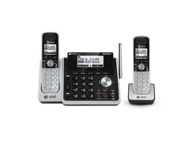 AT&T TL88102 + (1) TL88002 Handset  2 Line Digital Expandable Cordless Phone