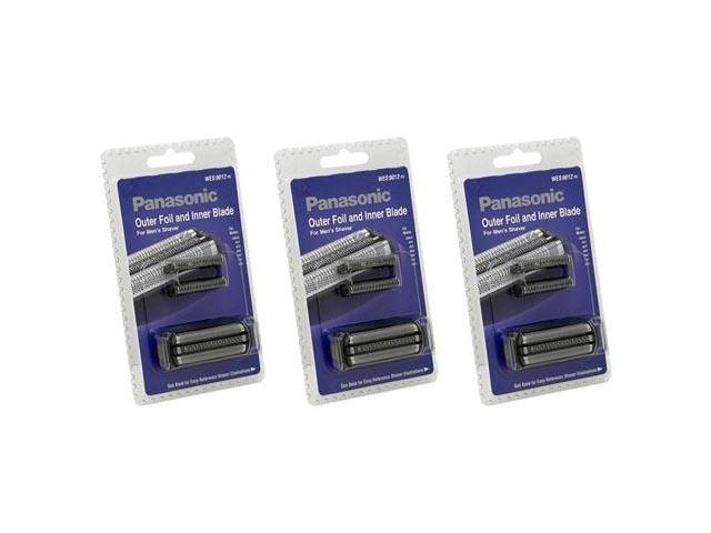 Panasonic WES9012PC Replacement Blade And Foil For Men's Shaver Models ES6003 / ES7058 / ES8047 3 Pack