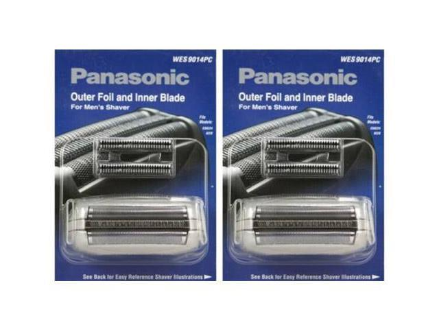 Panasonic WES9014PC Replacement Outer Foil / Inner Blade For ES8224 / ES8228 (2 Pack)