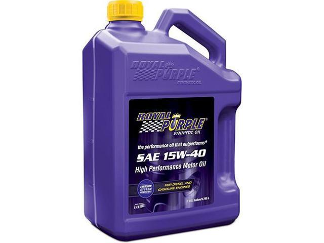 Royal Purple API-Licensed Motor Oil, 15W-40, 1 Gal Royal Purple 04154