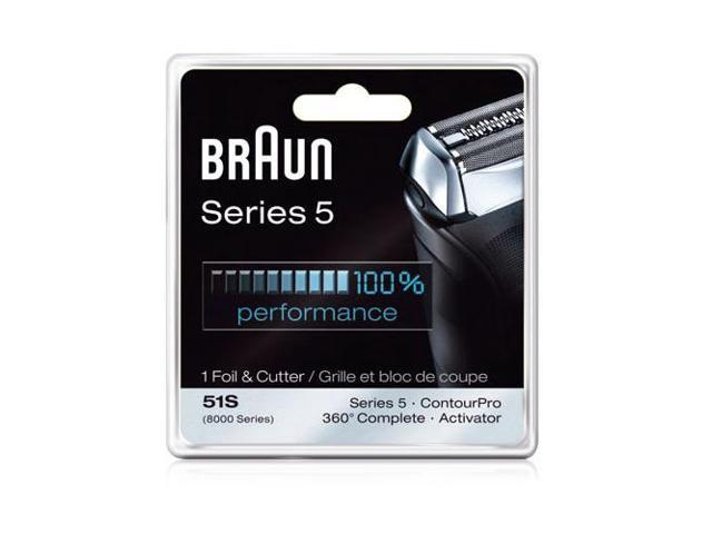 New Replacement Blades for Braun 550cc Cordless Shaver 1 pack New in The Box