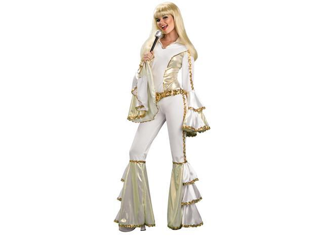 ABBA 70s Girl Disco Queen Outfit Halloween Costume