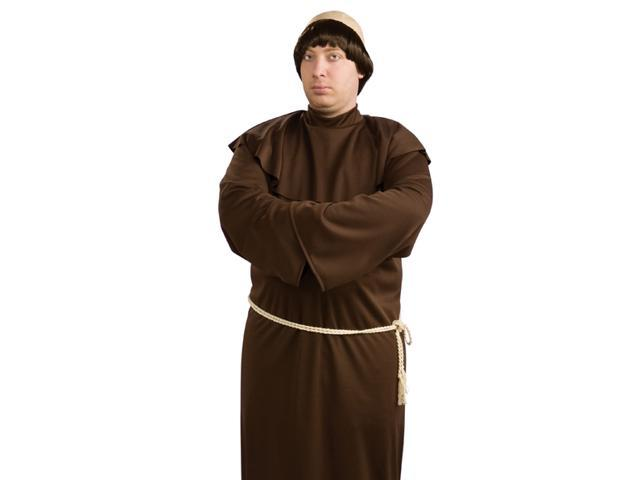 Monk Robe Adult Plus Size Friar Tuck Halloween Costume