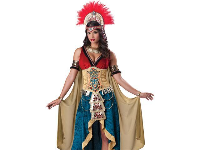 Mayan Queen Adult Aztec South American Halloween Costume Medium