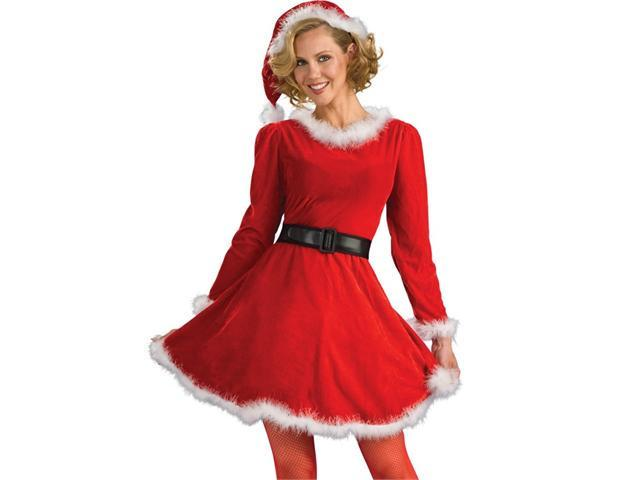 Adult Santa Costume Mrs. Claus Christmas Dress  Small