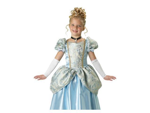 Kids Cinderella Deluxe Princess Halloween Costume