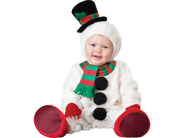 Baby Plush Snowman Infant Frosty Christmas Costume