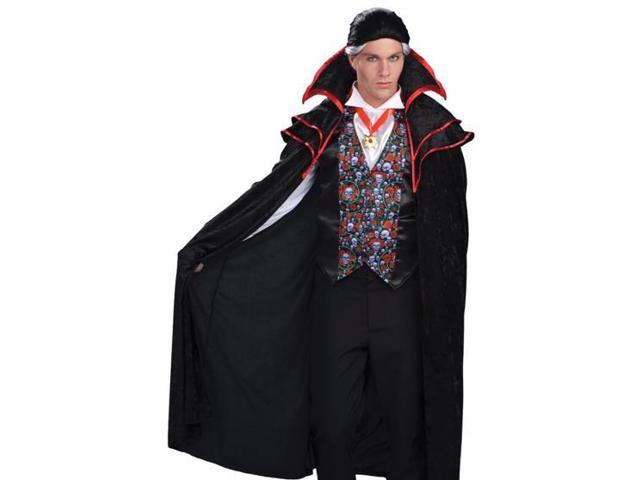 Count Dracula Gothic Skull Adult Halloween Costume