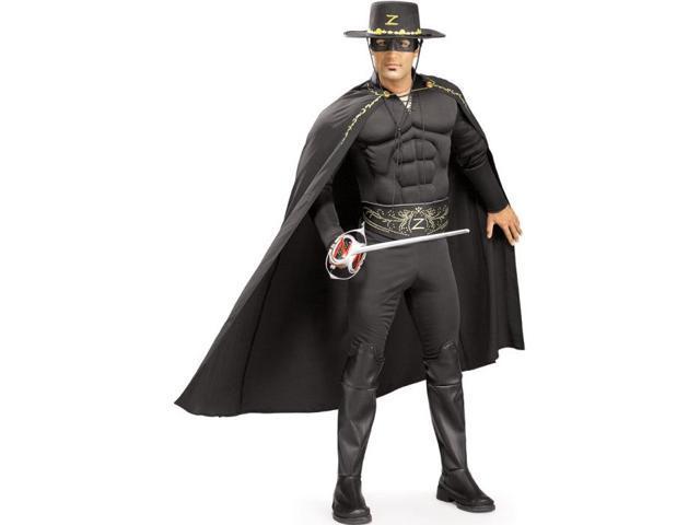 Zorro Costume for Men - Muscle Chest