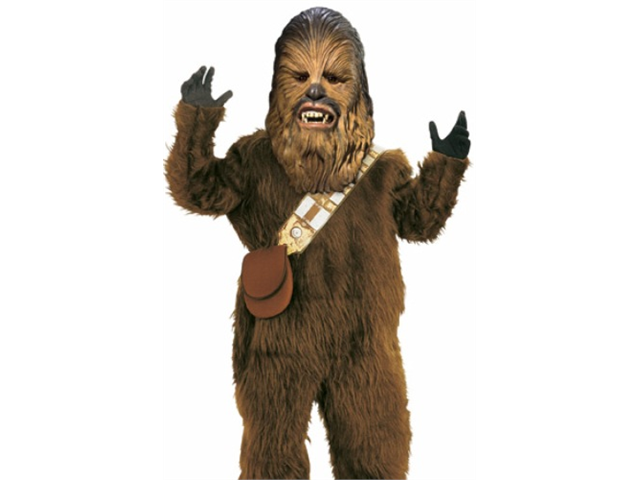 Halloween Chewbacca Costume - Deluxe Star Wars