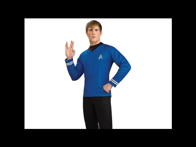 Adult Blue 2009 Star Trek Costume Rubies 889118 887364
