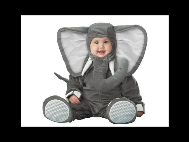 Lil Elephant Infant Toddler Costume
