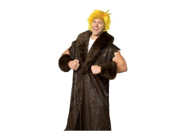 Adult Barney Rubble Costume Rubies 16879