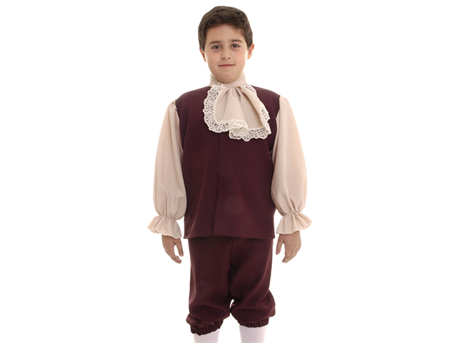 Kids Boys Colonial Historical American Revolution Halloween Costume