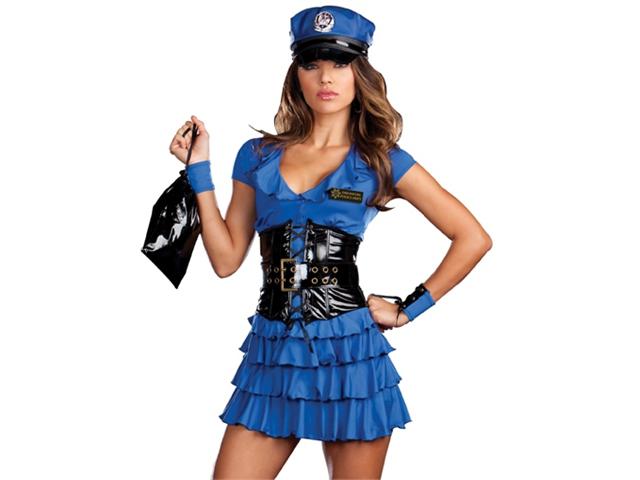 Cop Costume Sexy Womens 107