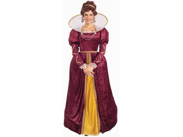 Womens Costume Renaissance Dress Queen Elizabeth Outfit
