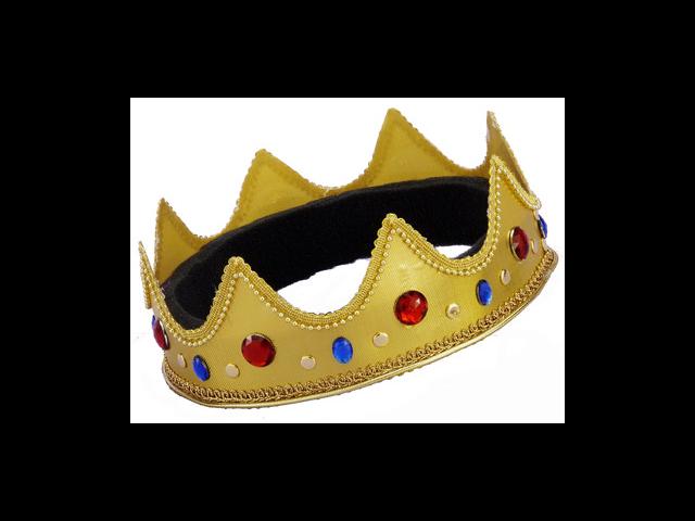 Adult Queen King Halloween Mardi Gras Costume Crown