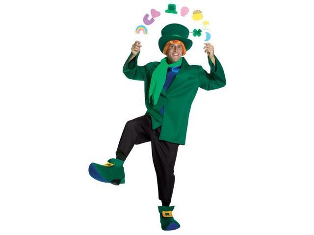 Lucky Charms Leprechaun Character Adult Costume Large