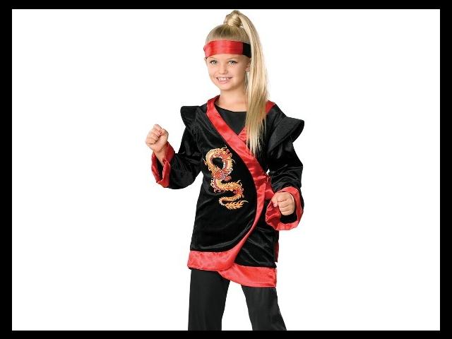 Как сделать костюм ниндзя для девочек