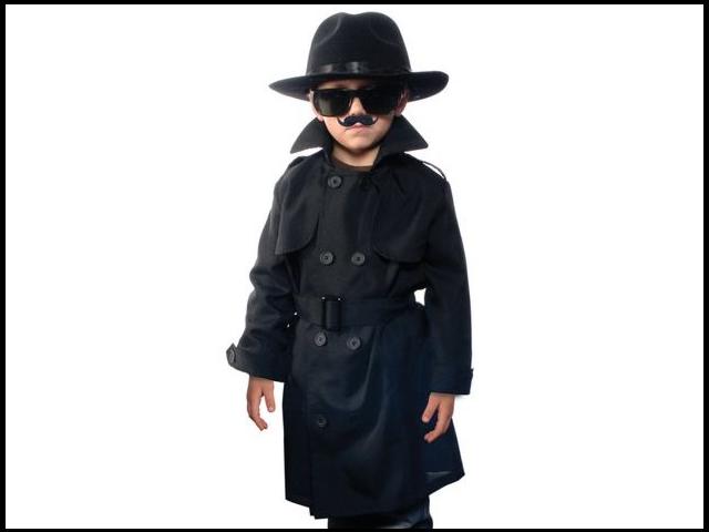 Child Secret Agent Aeromax SEC