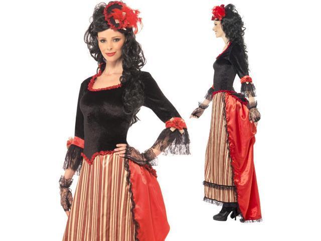 Womens Western Victorian Historical Halloween Costume