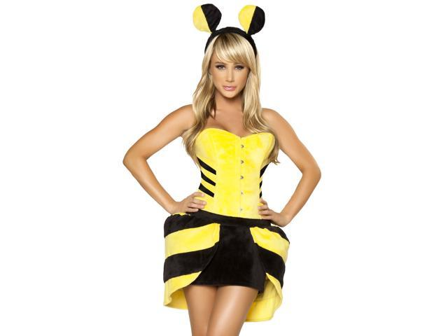 Sexy honey bee costume
