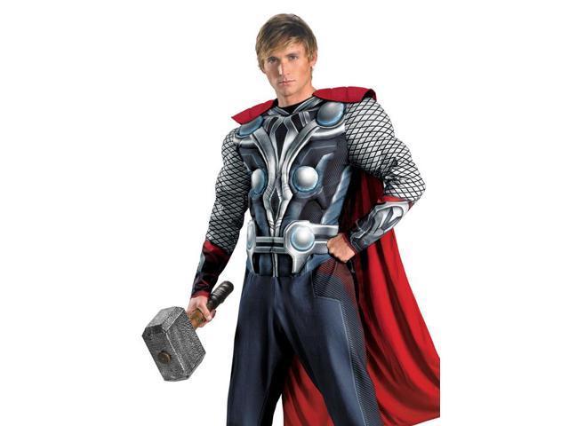 Adult Thor Mens Avengers Movie Halloween Costume