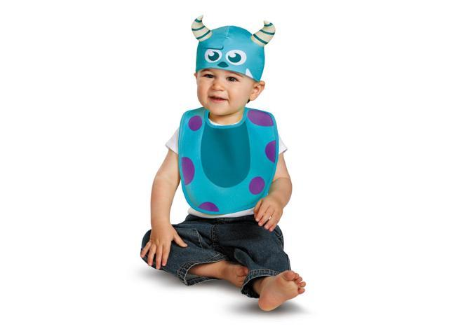 Baby Monsters University Sulley Infant Costume Bib + Hat