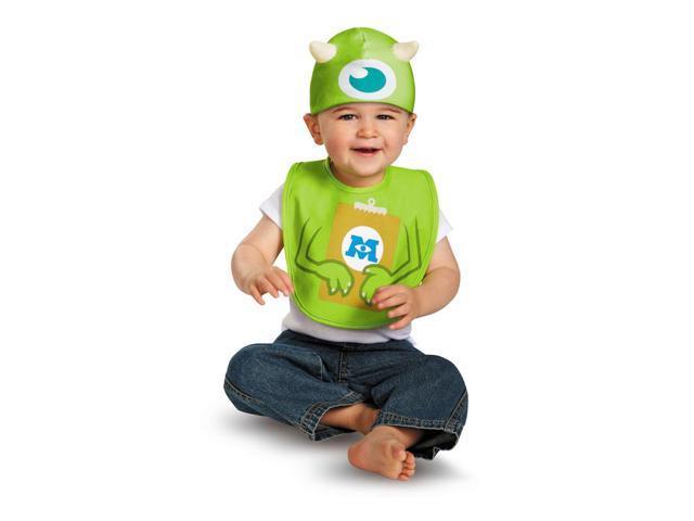 Baby Monsters University Mike Infant Costume Bib + Hat
