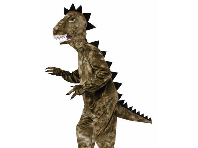 Adult Dinosaur T-Rex Animal Plush Mascot Halloween Costume