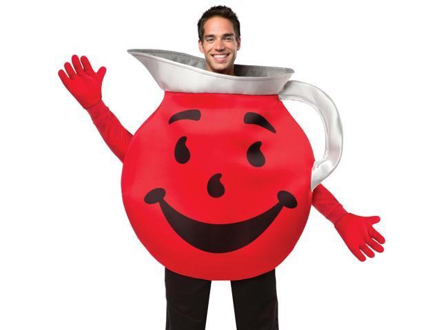 Funny Adult Kool-Aid Man Halloween Costume