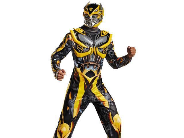 Mens Bumblebee Transformers Deluxe Halloween Costume